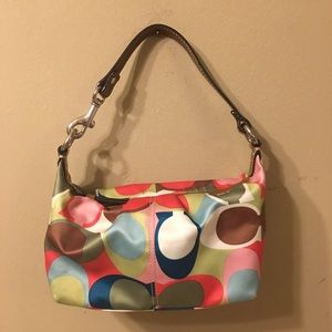 Coach small colorful bag
